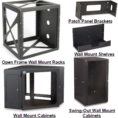 Wall Mount Racks & Cabinets